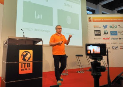Andy at the ITB Berlin