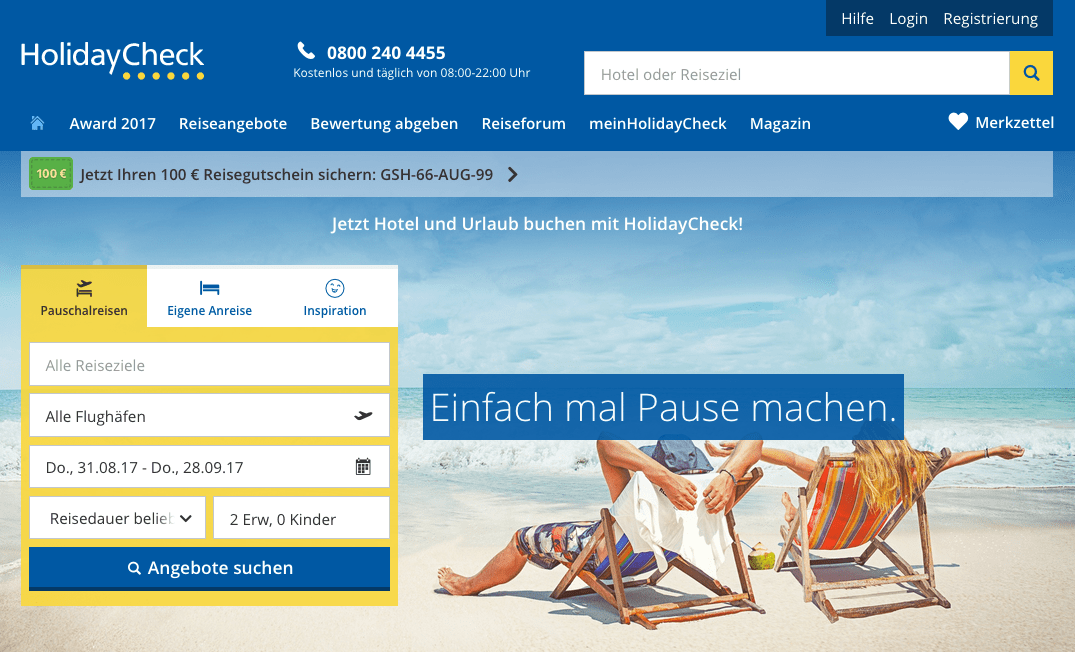 HolidayCheck taps into personalisation technology from bd4travel