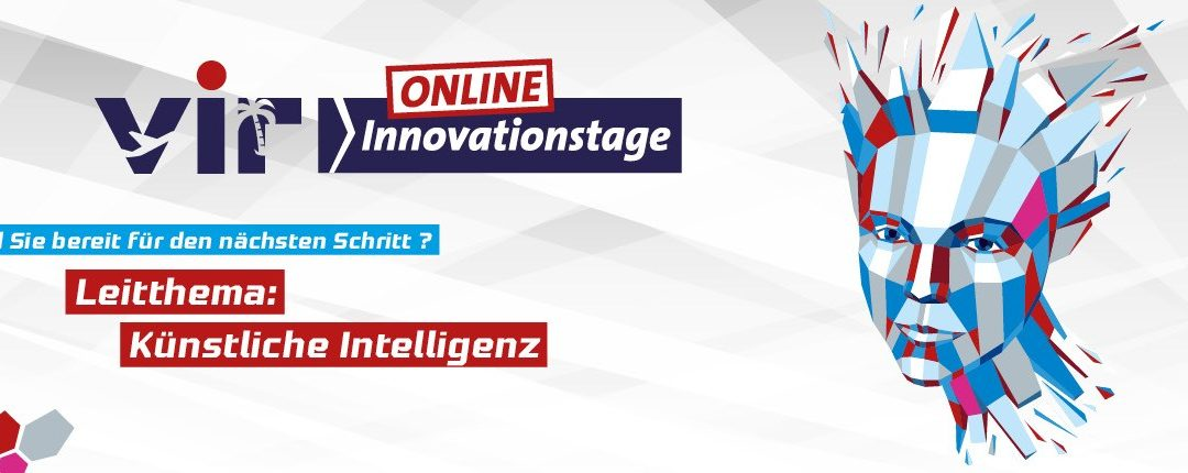"Experience ""AI with a Spin"" at the ""VIR Online Innovationstage"" in Berlin (21.6. & 22.6.)"