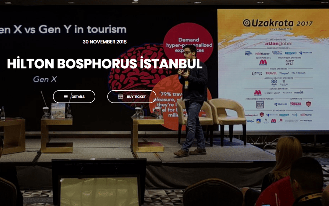 Can AI Solve Tourism Marketing Problems?  Uzakrota Travel Summit, 30.11.2018, Hilton Bosphorus Istanbul