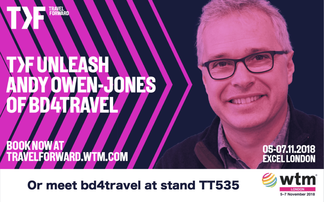 Meet bd4travel at the World Travel Market in London (5.-7.11.2018)