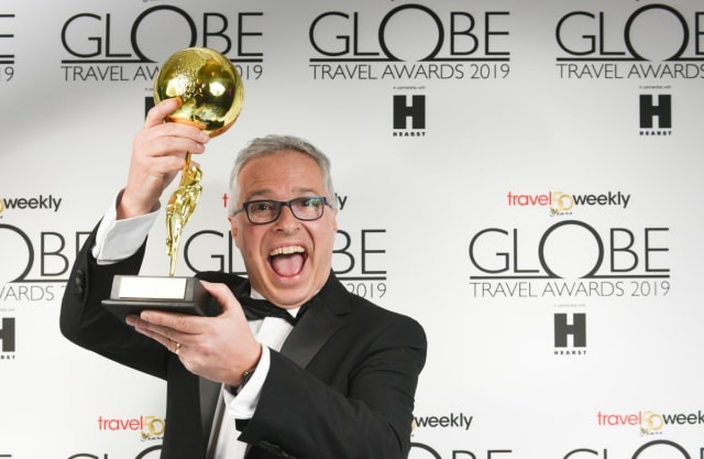 Innovation in Travel award for bd4travel within the Travel Weekly Globes 2019