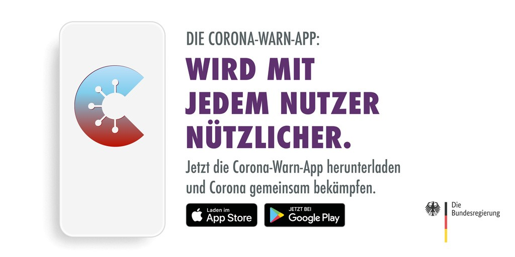 German Corona App launched – let's use it.