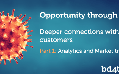 Opportunity through crisis – deeper connections with your customers (part 1)