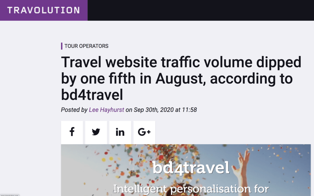 Travolution.com: bd4travel shows the insight on summer booking behavior