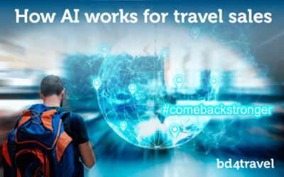 How AI works for travel sales