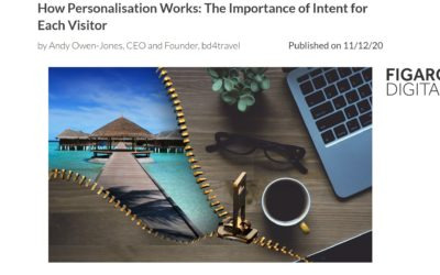AI-driven personalisation allows travel businesses to improve the customer's shopping experience