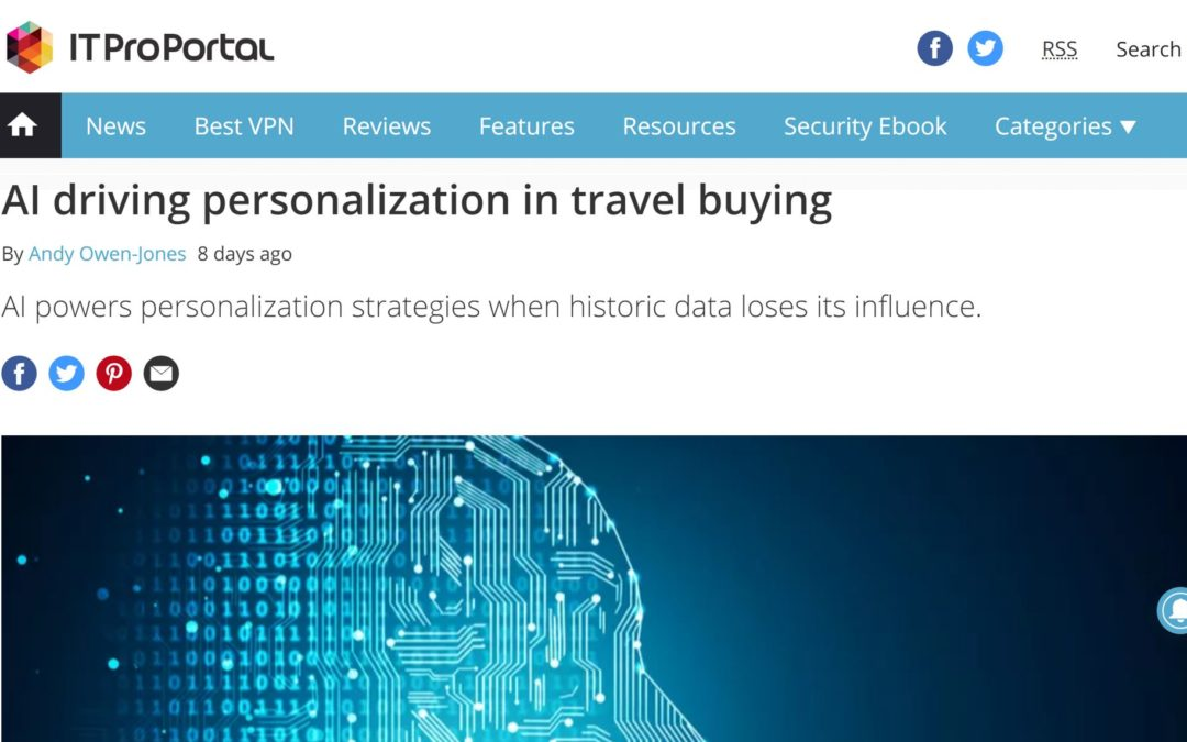 AI powers personalization strategies in travel sales