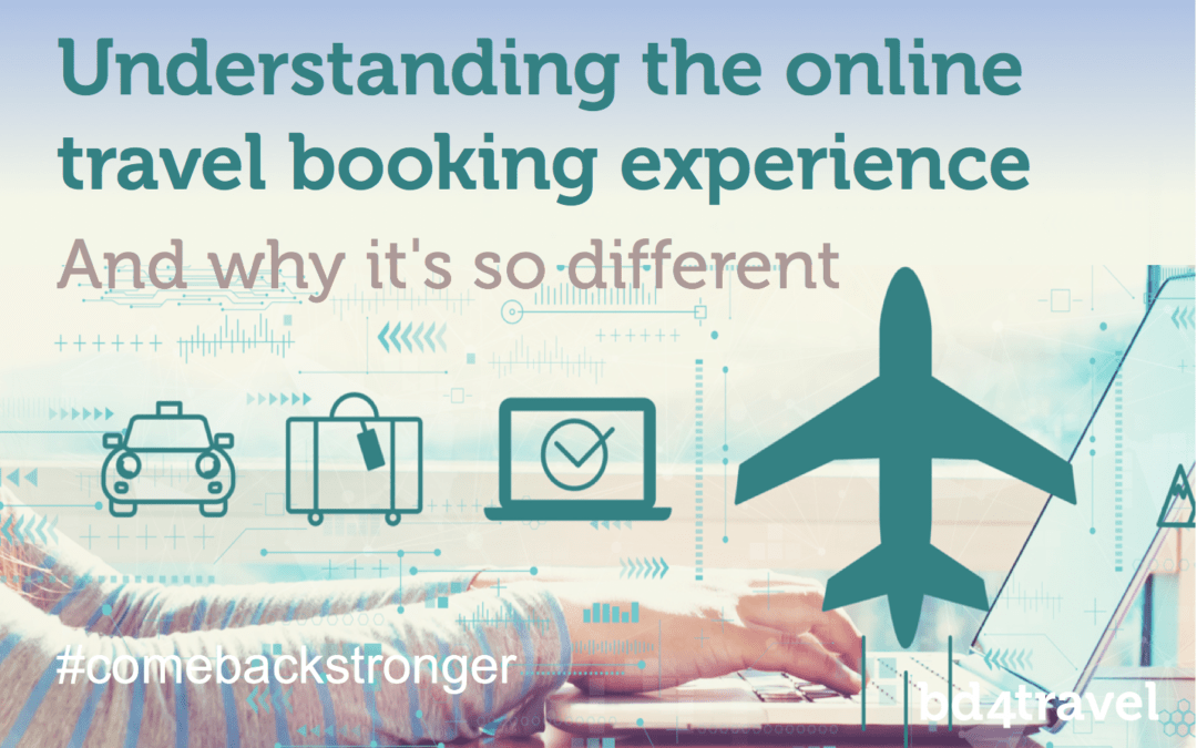Understanding the online travel booking experience
