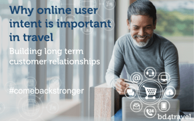 Why online user intent is important in travel – building long-term customer relationships