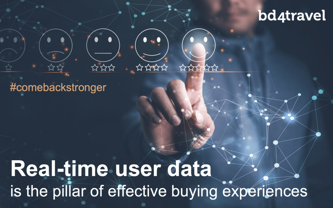 Real-time user data is the pillar of effective buying experiences