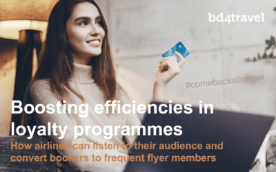 Boosting efficiencies in loyalty programmes