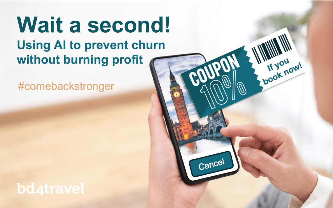 Wait a second! Using AI to prevent churn – without burning profit