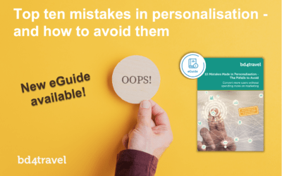 Top ten mistakes in personalisation – and how to avoid them